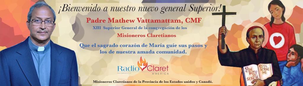 Mathew Vattamattam, cmf claretians