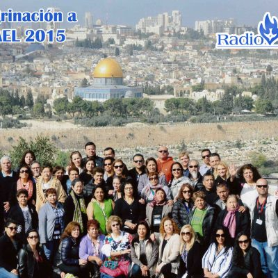 peregrinacio a israel 2015