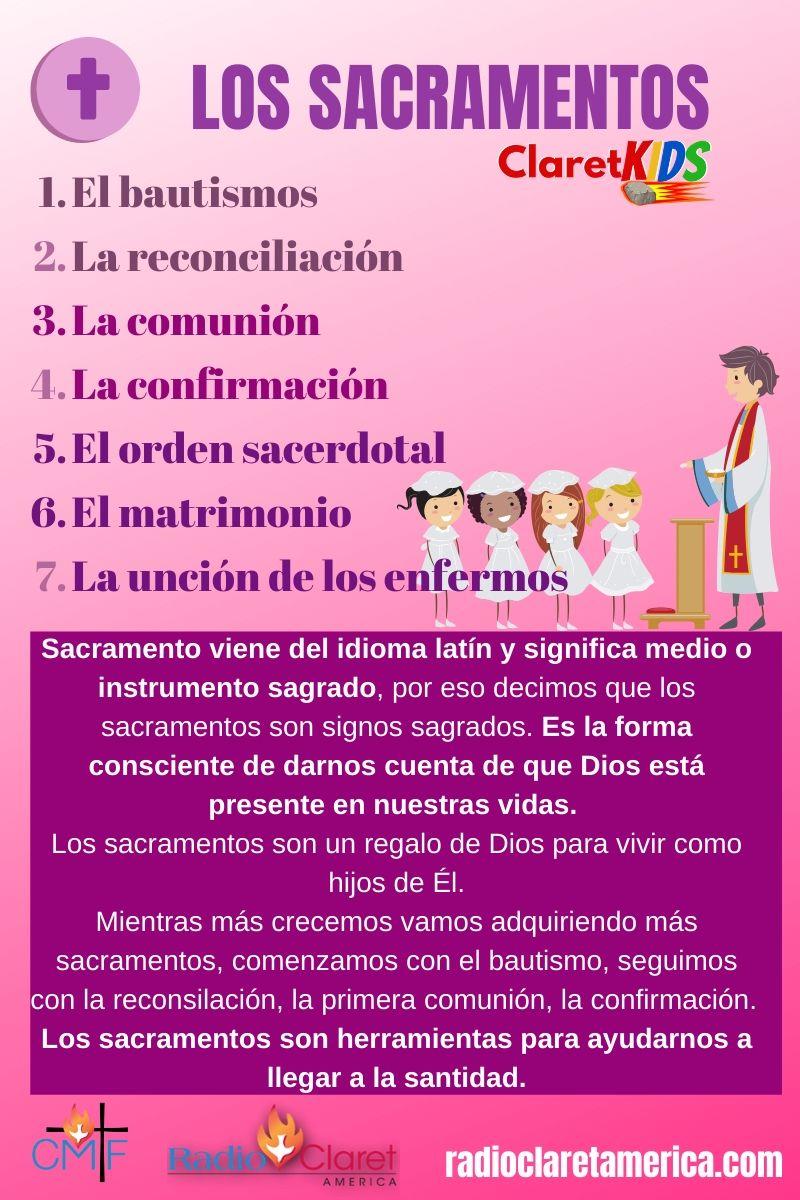 qué son los sacramentos