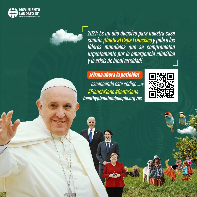 peticion planeta sano, gente santa